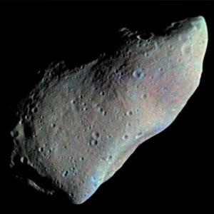 <p>Der Asteroid Gaspra</p>